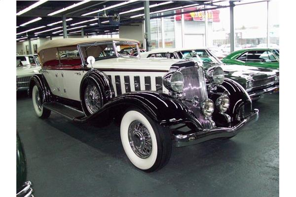 Chrysler CL Imperial Sport Phaeton by LeBaron 1933